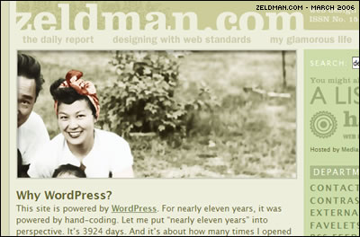 Zeldman: Why WordPress?