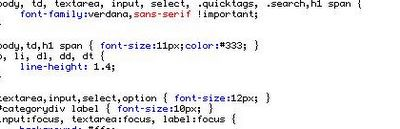 Print stylesheets.